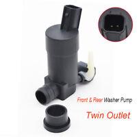 Front Rear Windshield Wiper Washer Pump For Volvo XC90 V70 C30 V50 Hatchback