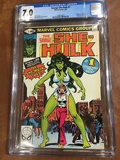 Savage She-Hulk #1 CGC 7.0 FN/VF- Origin Story & 1st Appearance
