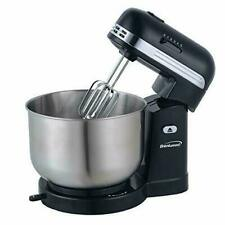 Brentwood SM-1162BK: 5-speed Stand Mixer w/ 3-quart, Stainless Steel