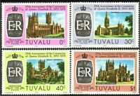 Tuvalu Cathedrals MNH ** (10)