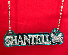 Name Plate Custom Name Necklace Nameplate Laser Cut Diamond Look Gorgeous Design