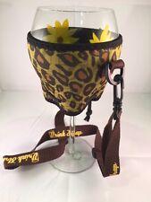 Koozie Holder  Drink Strap Wine Necklace Cooler New