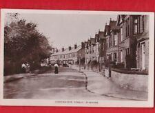 Staffordshire, Corporation Street, Stafford. Postcard