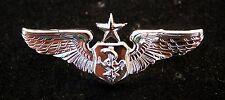 US AIR FORCE SENIOR FLIGHT NURSE MINI BADGE HAT PIN UP DEVICE CUSTOM AFB USAF