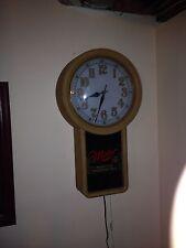 Miller Beer Illuminated Wall Clock
