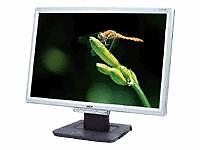 Acer 1916W Widescreen LCD Monitor, PC and Mac compatible, Silver frame