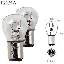 Ampoule Feu Arrière + Stop pour Citroen C2 - 12V 21/5W Culot BAY15D P21/5W - 841