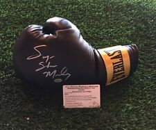 SUGAR SHANE MOSLEY Autographed EVERLAST Boxing Glove INSCRIBED Leaf COA
