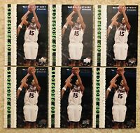 ( 6 ) 2003-04 Upper Deck UD Top Prospects Carmelo Anthony #57 RC Rookie Cards