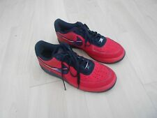NIKE  LUNAR FORCE 1 LEATHER TRAINERS  - UK SIZE 8.5 - IN A QUITE GOOD CONDITION