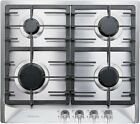 Miele KM360G 24 Inch Natural Gas 4 Sealed Burner Gas Cooktop in Stainless Steel photo