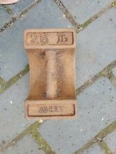 More details for vintage avery cast 28lb weight - doorstop?  (513g)