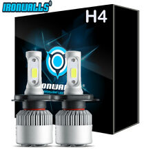 H4 9003 LED Headlight Conversion Bulbs 1080W Light for 2007-2014 Toyota Yaris 2x