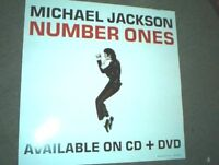 MICHAEL JACKSON RARE Australian PROMO POSTER Number Ones