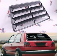VW Golf mk2 GTI Window Louver Spoiler Tuning Car Parts 2 / 4 Doors ABS plastic