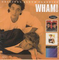 USED 3CD BOX SET // WHAM // GEORGE MICHAEL //ORIGINAL ALBUM CLASSICS ALL 3 ALBUM