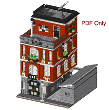 Lego Custom Modular Building Instructions 10224 - PDF ONLY Town Hall Alternate