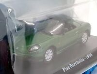 Hachette 1/43 Scale Diecast IR08092 - 1959 Fiat Barchetta - Green