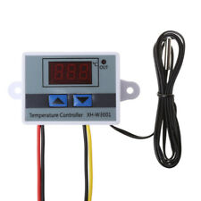 Digital 220V LED Temperature Controller 10A Thermostat Control Switch Probe New
