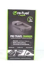 2) Digipower-Pro Travel-Charger-TC-5000U-universal DSLR, and 1) set of plates