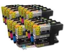 16 LC225XL + LC227XL Cartuchos de tinta para la impresora Brother MFCJ 4620DW MFCJ 4625DW