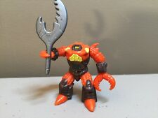 Battle Beasts - Crusty Crab - #28 - Complete With Rub and Accessories