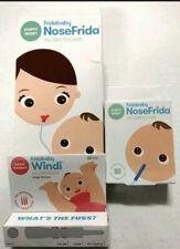 New fridababy NoseFrida the Snotsucker w 20 Filters & Single Windi the Gaspasser