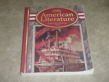 Abeka 11th American Literature Classics for Christians Student Book 3rd Edition