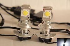 2 pcs H7 40W 4000 LM CREE COB high power led Headlight fog light DRL Super White