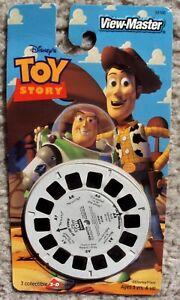 Toy Story ORIGINAL Buzz Lightyear VIEW MASTER 3D Reels COWBOY WOODY Disney Pixar