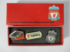 More details for set of 3 liverpool football club official membership enamel pin badges