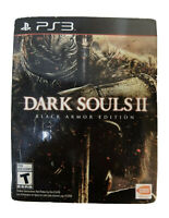 Dark Souls II Black Armor Edition Ps3 PlayStation 3 Game +collector Steel book 2