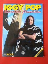 COLLECTION IMAGES DU ROCK LIVRE  IGGY POP BARCELONA CONNECTION + POSTER
