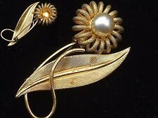 Pearl Brooch/Pin Vintage Fine Jewellery (1960s)
