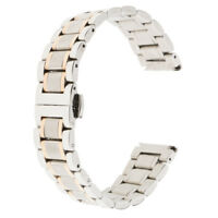 18mm-20mm Stainless Steel Bracelet Watch Band Strap for Men's iWatch Sport Watch