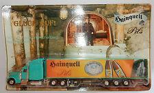 GRELL HO 1/87 CAMION SEMI-REMORQUE TRUCK TRAILER PETERBILT 379 HAINQUELL BEER