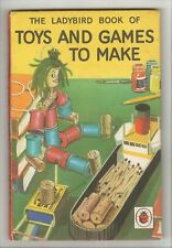Ladybird - Book of Toys and Games to Make - 633 - FIRST EDITION - 1966