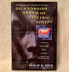 HARDBOUND BOOK DO ANDROIDS DREAM OF ELECTRIC SHEEP - PHILIP K. DICK - MINT