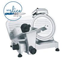 Linkrich 195mm Semi-Automatic Meat Slicer - Silver