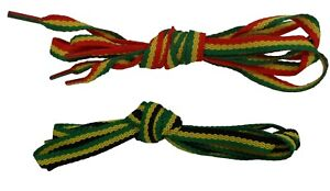 2 Pair Pack of Rasta and Jamaican of 100 CM Shoe Boot Laces…