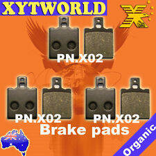 FRONT REAR Brake Pads MOTO GUZZI 350 NTX 350 1987 1988 1989 1990