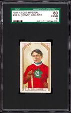 1911-12 C55 Imperial Tobacco #39 Henri Dallaire SGC 80
