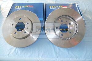 Pair Front Brake Discs Chevrolet Captiva Opel Antara 96625948 Sivar
