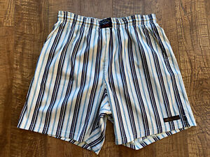 NWOT PAUL & SHARK Yachting swimming trunks Size L Blue,White Habana Club Edition