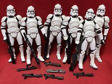Star Wars Lot.................CLONE TROOPERS x6