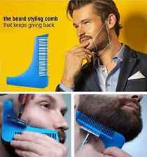 Beard Shaper Guide Shaving Trimming Template styling shaping tool and comb AUS