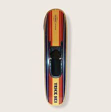 "VTG Water Ski Trick Ski 41.5"" Ski World By Puritan Wood Finish Adjustable"