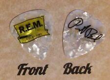 REM band PETER BUCK signature logo guitar pick - (w)