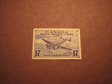 Canada Stamp Scott# CE2 Trans-Canada Airplane & Aerial View of City MNH C60