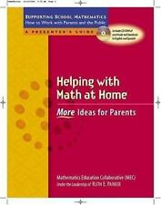 Helping with Math at Home: More Ideas for Parents (Supporting School